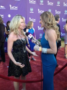 Interviewing Deanna Carter at the ACMs in Las Vegas - Danielle Smith